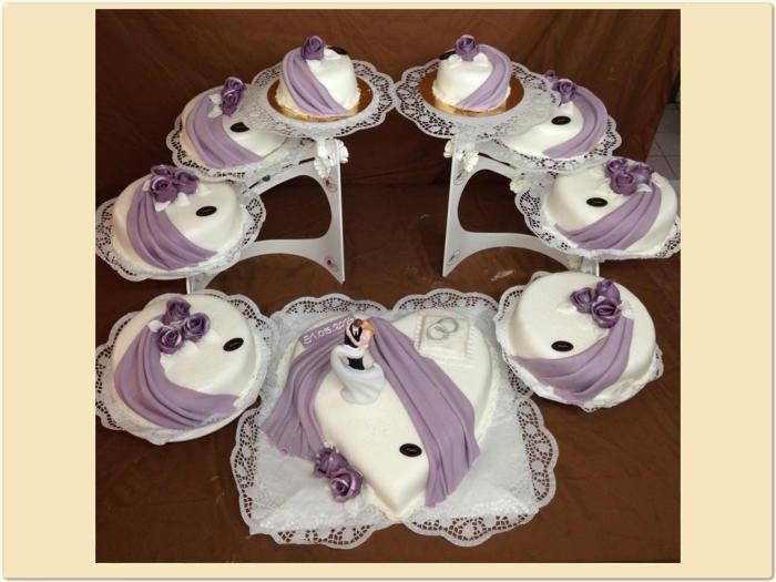 Hochzeitstorte Xl Violett Konditorei Hubler
